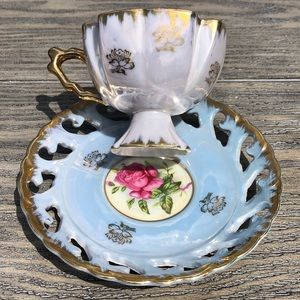 Vintage Tea Cup Made in Japan marked Wales